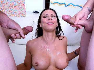 A Rachel Starr threesome